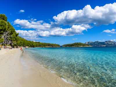 Come to the best beaches in the north of Mallorca with Radio Taxi Pollensa